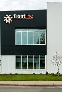Exterior of Frontline Industrial