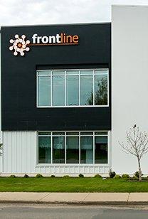 Exterior of Frontline Industrial